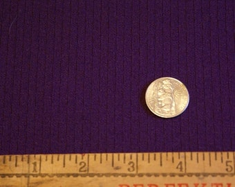 """1 Yard 17""""  60"""" Wide Textured Purple Double Knit Fabric"""