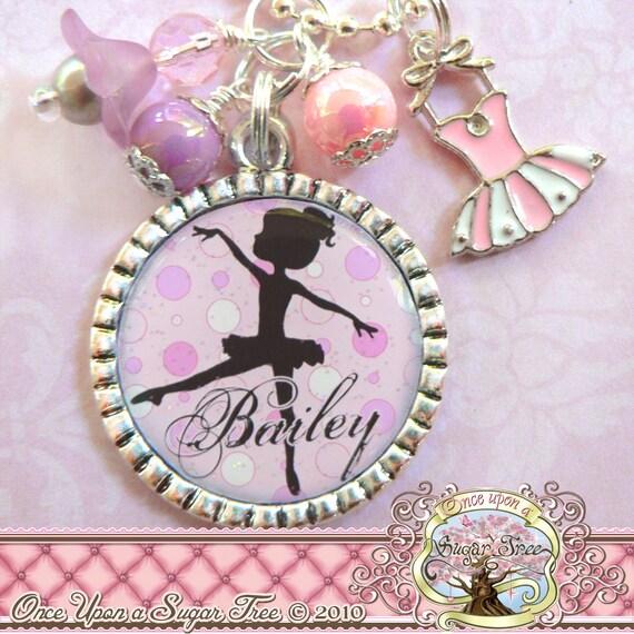Children's Ballet Jewelry BALLERINA NECKLACE Ballerina
