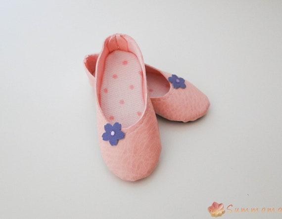 Basic Pink shoes for Minifee,  JID, MSD, BJD
