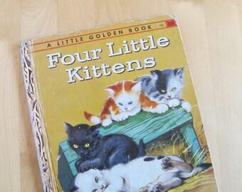 A Little Golden Book - Four Little Kittens