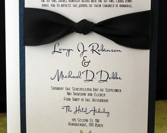 The French Vintage Invitation (((Sample)))