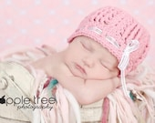 Crochet Pattern for Gracie Beanie hat - 5 sizes, baby to adult - Welcome to sell finished items