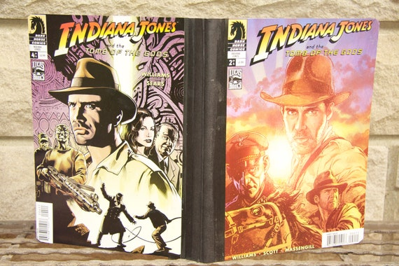 Indiana Jones - Tomb of the gods comic Composition Notebook  - NEW to the shop