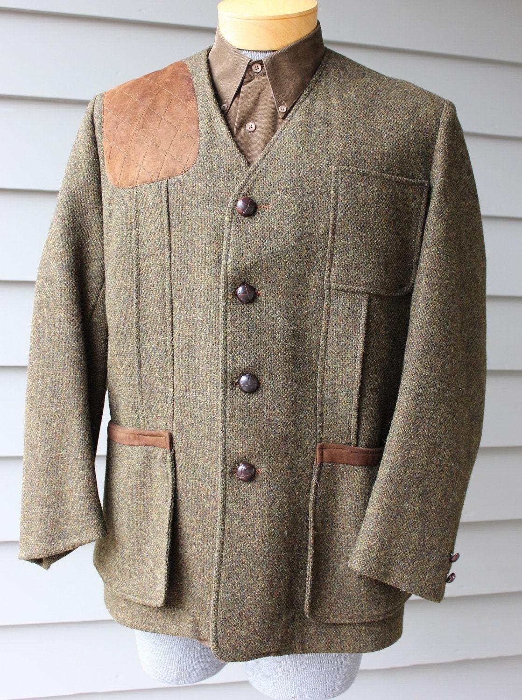 vintage 1960's ORVIS Men's Shooting jacket. Modified