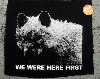 We were here first WOLVES patch animals are better than people in many many ways