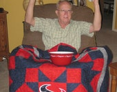 Lap Quilt Made from Your Team T-Shirt