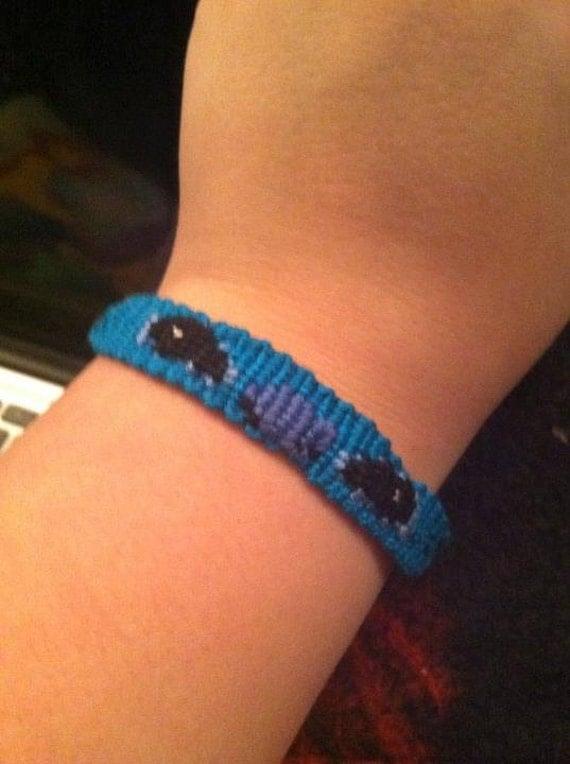 Stitch Friendship Bracelet Stitch Friendship Bracelet