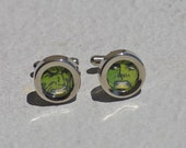 The Incredible Hulk Cuff Links superhero hulk cufflinks marvel recycled upcycled vintage comic book comics reclaimed