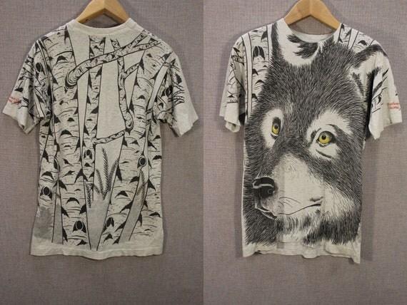 Wolf Tacoma Washington  t-shirt Size M