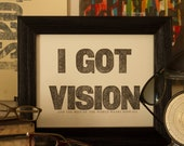 Vision Vs. Bifocals - Limited Edition by MLK&toast