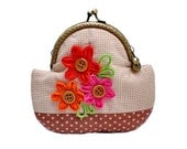Beautiful Flowers Blooming Purse