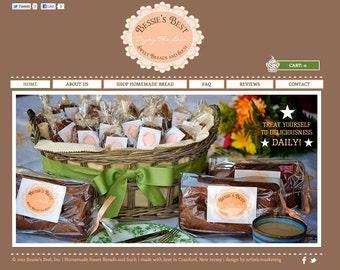 Custom Affordable Web design HTML or Flash (4 page eCommerce SHOP Website)