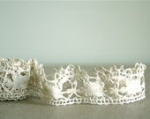 vintage handmade french lace