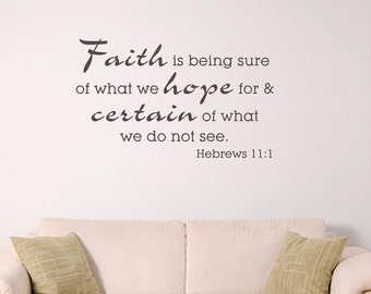 bible verse wall art, Faith