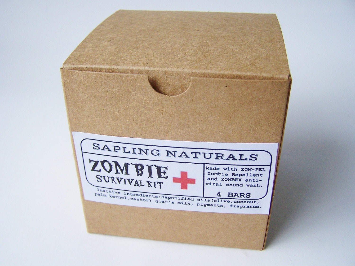 Zombie survival kit gift for boyfriend uk