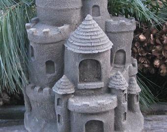 Concrete Fairy Garden Castle