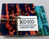 Koko Coaster Tiles 2-Combo - Gulf Coast