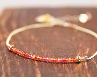 Carnelian Bridesmaid Bracelets, Coral Bridesmaid Gifts, Dainty Bracelet Collection, Weddings