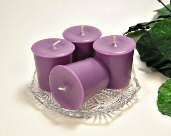 Votive candles Plums and Berries scent 4 pack