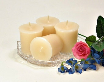 Votive candles Rice Flower and Shea scent 4 pack