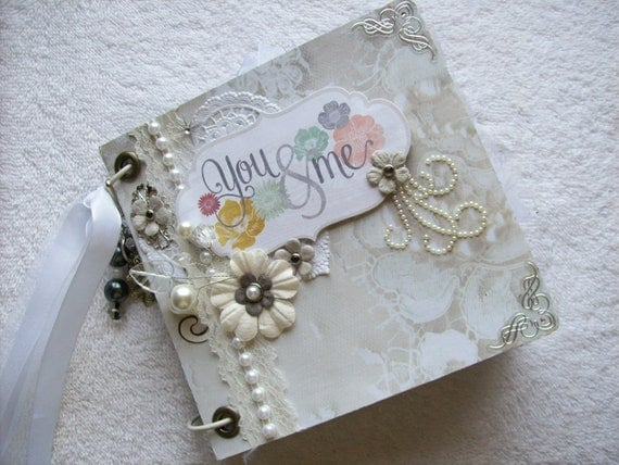 WEDDING Scrapbook Envelope Mini Album NEUTRAL By Ljbminis2021