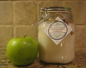 Beeswax Candle in 38 ounce Lidded Jar.Great Emergency Candle.  Perfect for Allergy Sufferers. Burns at least 100 hours