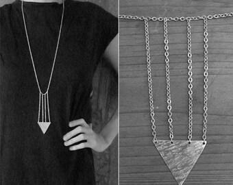 Indian Arrowhead Cage Necklace (No. 34)