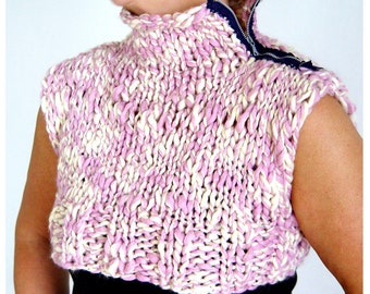 Knitted Mini Vest