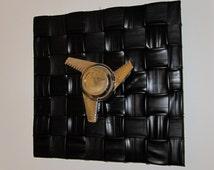 Salvage Funiture / Upcycled Recycled / Vintage Car Mag Wheel / Bike / Inner Tube Coat Rack / Garment Rack