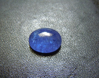 Tanzanite Cabochon Oval Gemstone AAA Quality Blue Color Size- 10x12mm  round  Wholesale Price