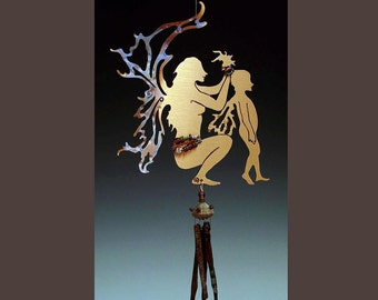 Mother's Day Wind Chime / Mobile-mother and Child Fairy