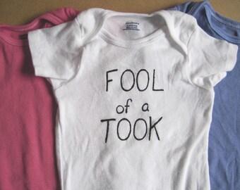 Fool of a Took onesie -Hand Painted-