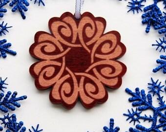 Celtic Ornament, Wood Celtic Ornament, Celtic Knot