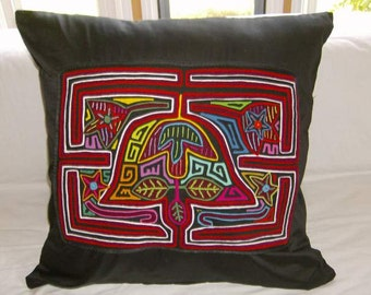 23 x 23 Black embellished pillow cover 203