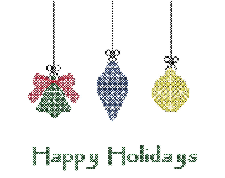 Ornaments Cross Stitch/Christmas Ornaments Cross Stitch/ Cross
