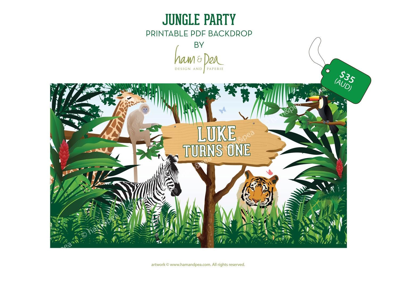 Junior : jungle party annonc0e9