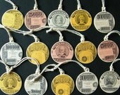 Recycled Gift Tags Fake Money Set of 15