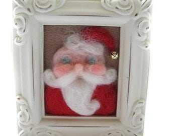Whimsical Santa - Vintage Santa - Christmas Decor