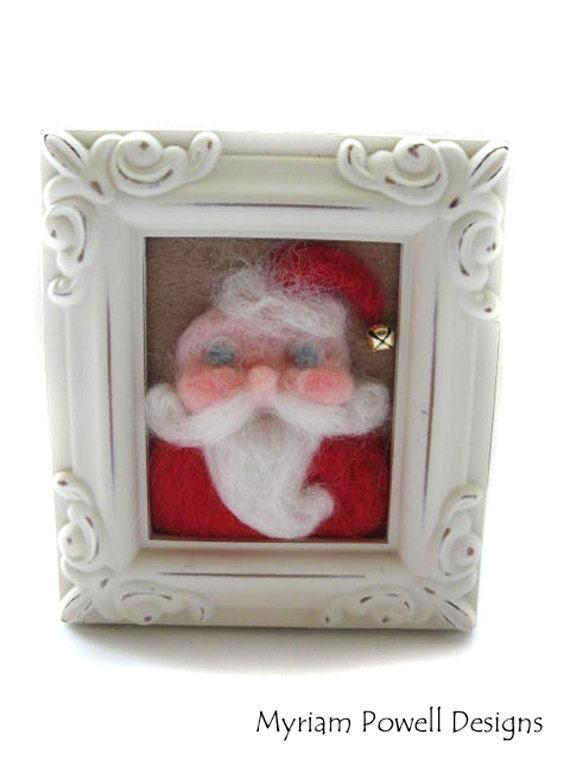 Whimsical Santa - Vintage Santa - Christmas Decor