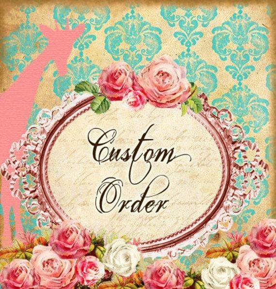 Custom Order Reserved Listing for Joli Perez - Two Reversible Custom Dresses
