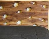SandDrift Walnut Bed