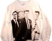 Twin Peaks: FBI Agents - David Lynch and David Bowie Unisex Sweatshirt sizes S-M-L-XL