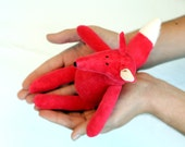 Tiny Fox Plushie stuffed animal toy for children