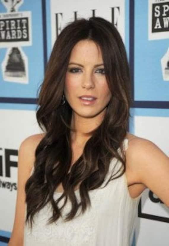 """Handmade SALE, Dark Brown 20"""" long 100% Human Hair Extensions. Clip in Extensions, Brown, Brunette Hair Wefts, Hair Weave"""
