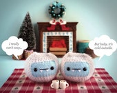 Yeti Baby It's Cold Outside Christmas Card