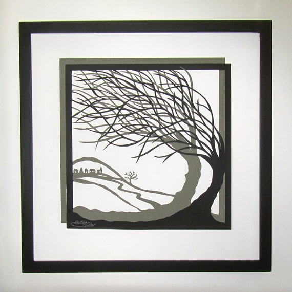 Trees Of Life Wall Art Home D Cor Silhouette Paper Cutouts W 2