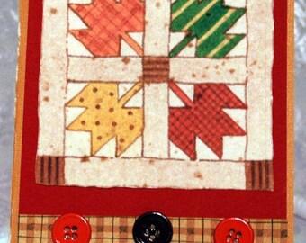 Quilt Block Card  20120612