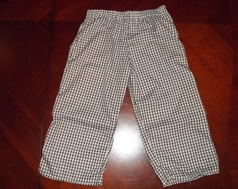 "1/8"" Lightweight Gingham Check Pants - Toddler  Sizes 12 months to 5T"