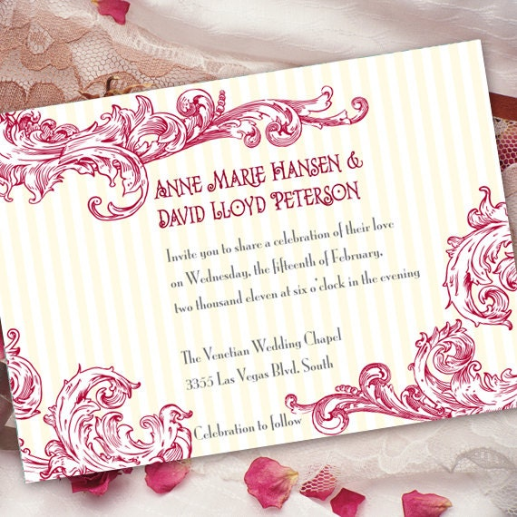 bachelorette party invitations, brial shower invitations, hot pink bridal shower invitations, hot pink bachelorette invitations