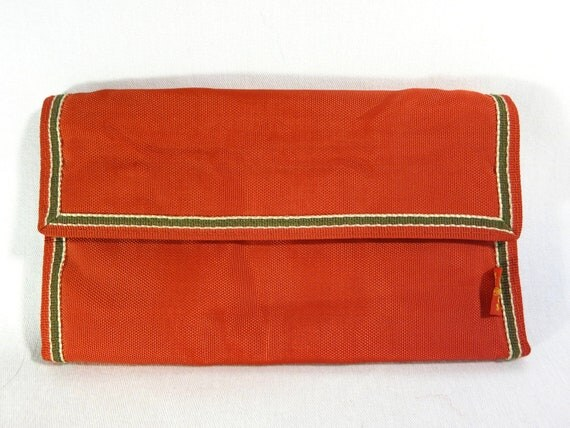 Vintage 1980's Red Levi's Velcro Wallet in Excelent Condition 80s Retro Mens Womens